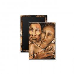 """Embrace"" Magnet, art by Carlotta Swain-Ward"