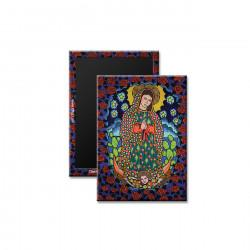"""Our Lady of Guadalupe"" Magnet, art by Hector J. Guerra"
