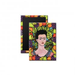 """Frida & Her World"" Magnet, art by Hector J. Guerra"