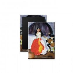 """Passion de Flamenco"" Magnet"