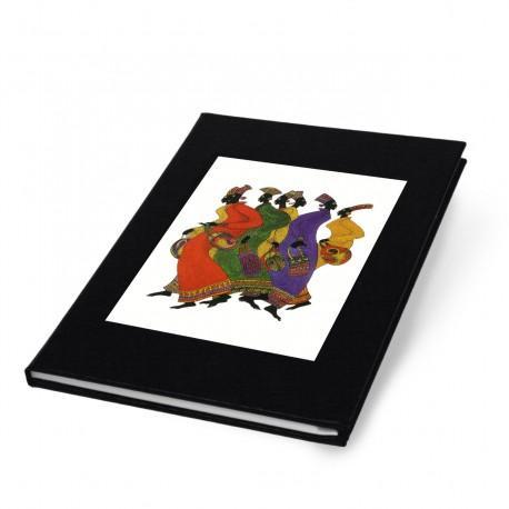 """""""Ebony Footprints"""" Address Book"""