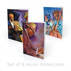Music-themed Boxed Note Cards