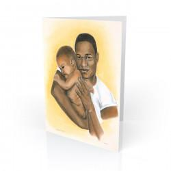 """Precious Moments"" Greeting Card, artwork by Carlotta Swain-Ward"