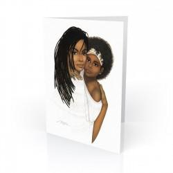 """Mother Love"" Greeting Card, artwork by Dexter Griffin"