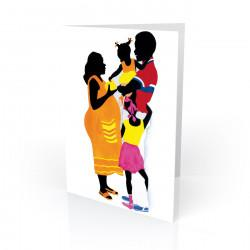 """Love and Affection"" Greeting Card, artwork by Edwin Harris"