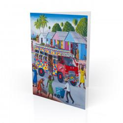 """Tap Tap"" Greeting Card, artwork by Fritz Marise"
