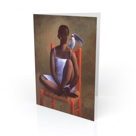 """""""The Secret"""" Greeting Card, artwork by François Cauvin"""
