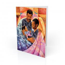 """Tenderly"" Greeting Card, artwork by Keith Mallett"