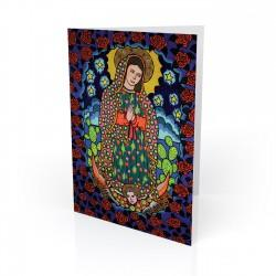 """Our Lady of Guadalupe"" Greeting Card, artwork by Hector Guerra"