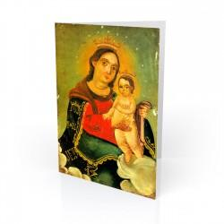 """Nuestra Senora, Refugio"" Greeting Card, artwork by Retablo"