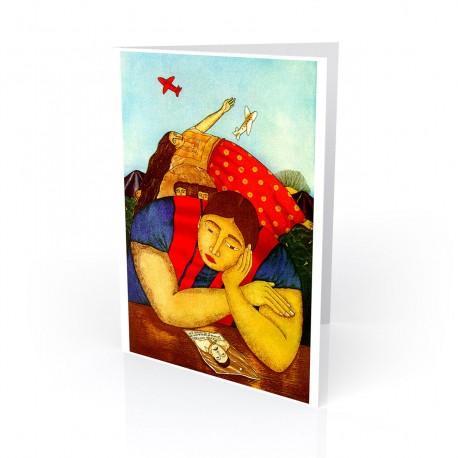 """""""Hasta Encontrarlos"""" Greeting Card, artwork by Fernando Olivera"""