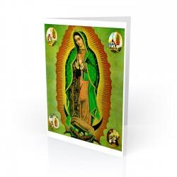 """Virgen de Guadalupe"" Greeting Card, artwork by Unknown"