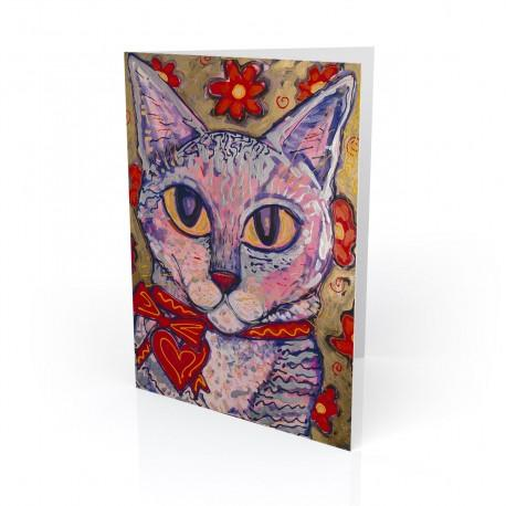 """Matisse"" Greeting Card, artwork by Tony DiAngelis"