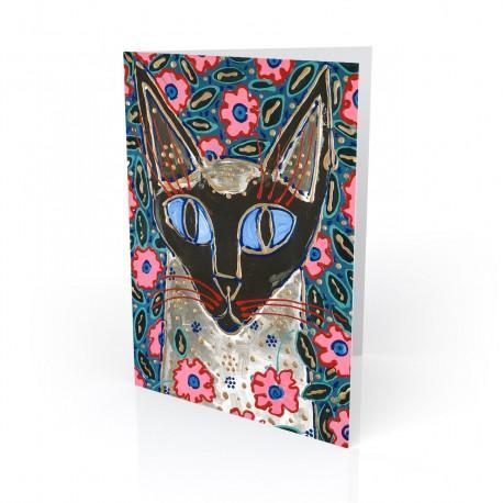"""Flora Katz"" Greeting Card, artwork by Tony DiAngelis"
