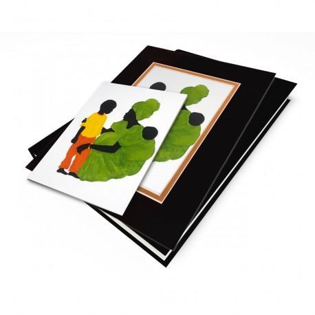 """""""Mama's Little Boy"""" Gift Set, artwork by Edwin Harris"""