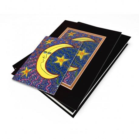 """""""The Moon & The Stars"""" Gift Set, artwork by Gwendolyn Scheers"""