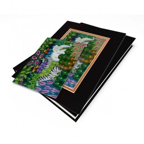 """Jungle Scene"" Gift Set, artwork by Joel Gautier"