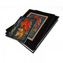 """""""Troyka"""" Gift Set, artwork from a Russian Laquer Box"""
