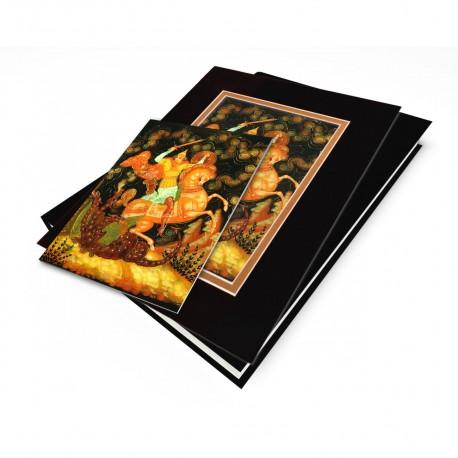 """Ilya Muromets"" Gift Set, artwork from a Russian Laquer Box"