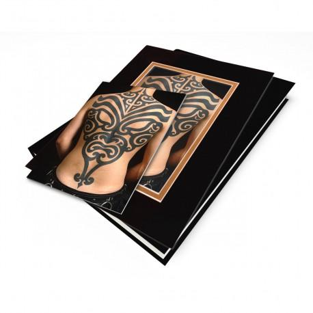 """Tribal Mask"" Gift Set, Tattoo Art by Alex Bini"