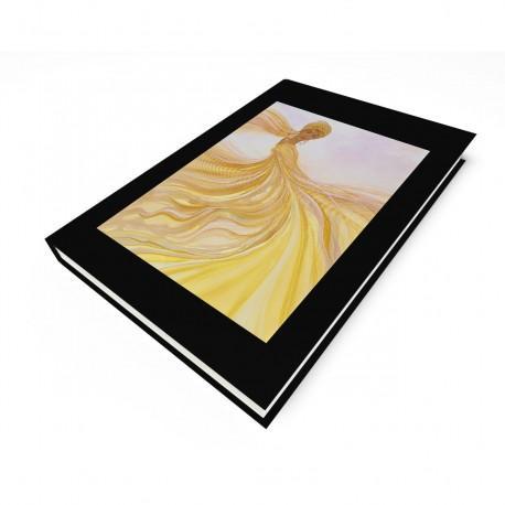 """Golden Dancer"" Blank Journal"
