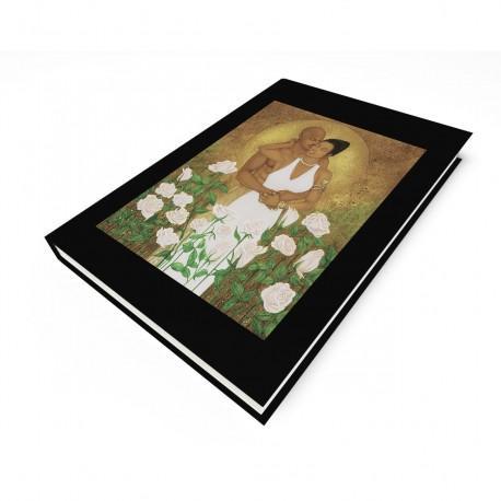 """Rose Garden"" Blank Journal"