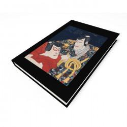"""Kabuki Scene"" Blank Journal"