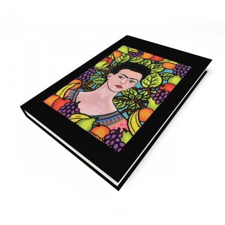 """""""Frida & Her World"""" Journal, art by Hector Guerra"""