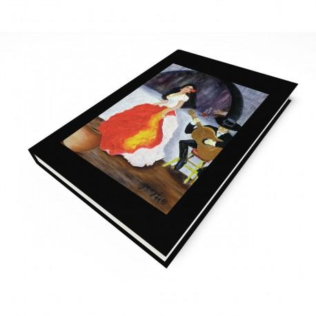 """""""Passion de Flamenco"""" Journal, art by Georgi"""