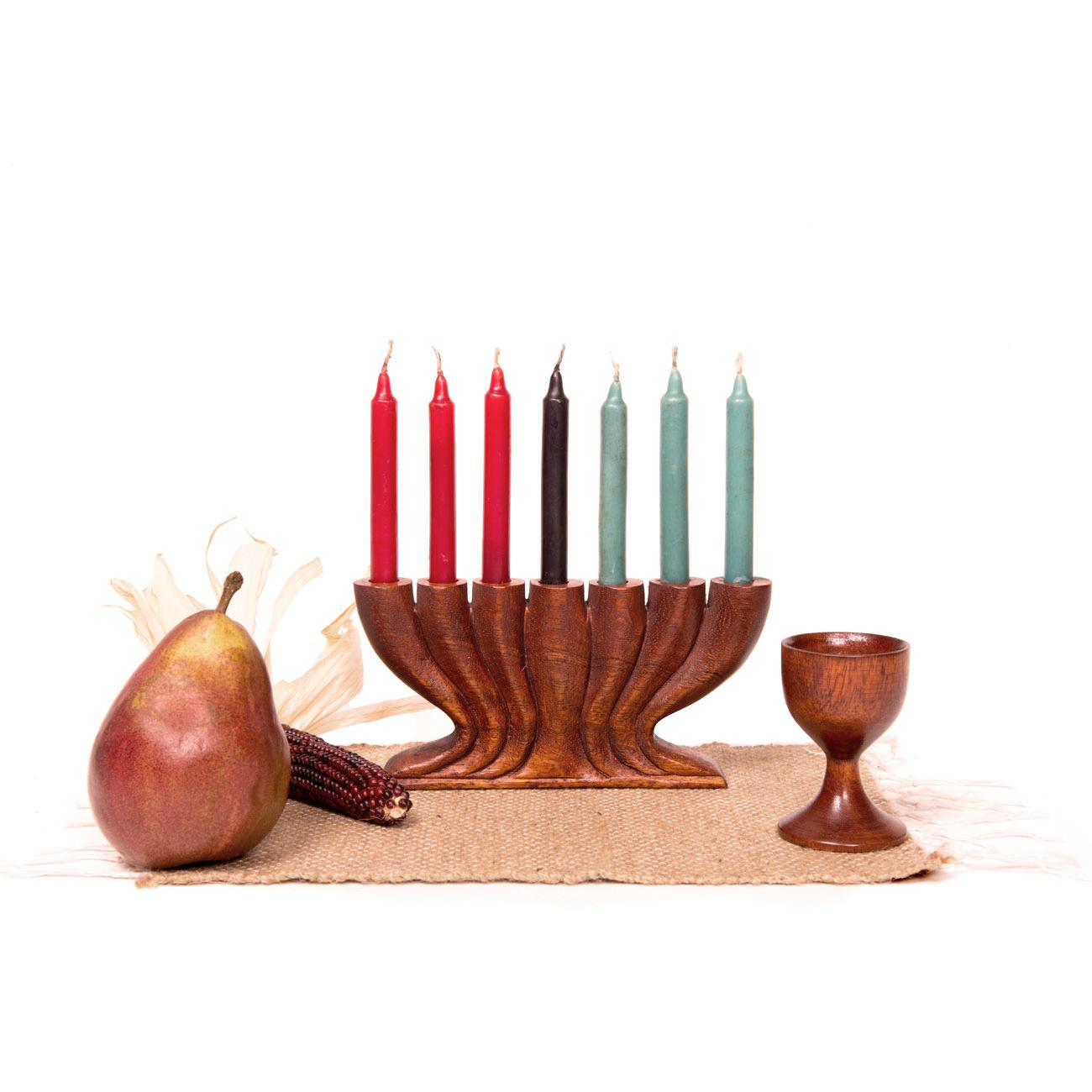 kwanzaa kit style a with tulip unity cup