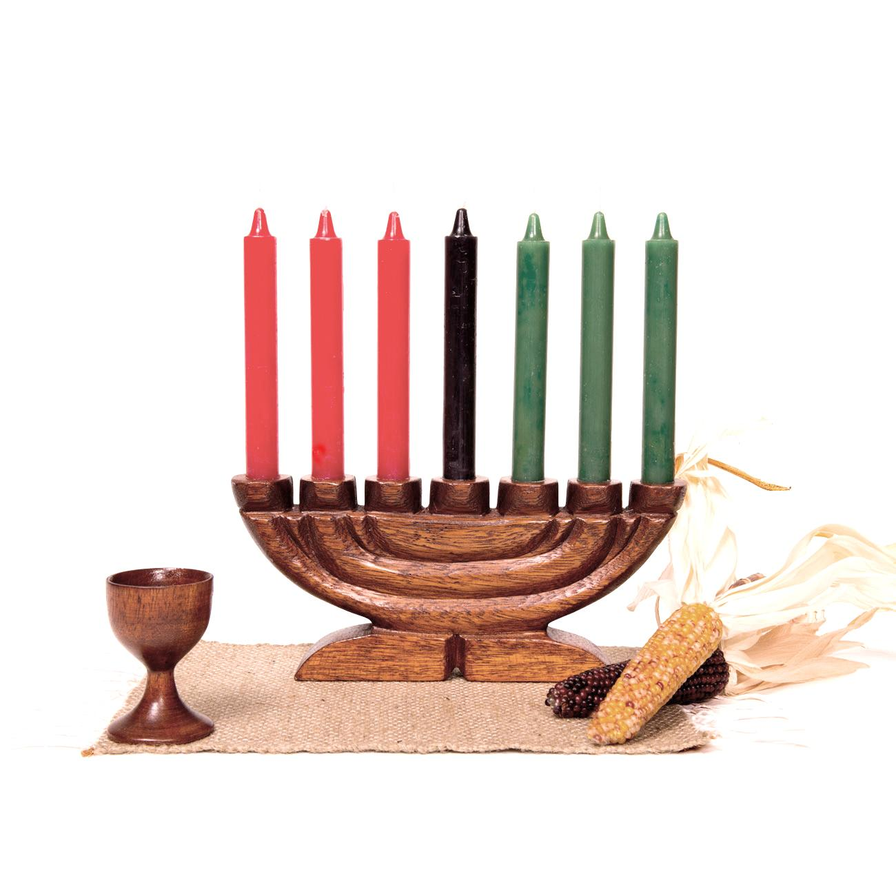 kwanzaa kit style b with tulip unity cup