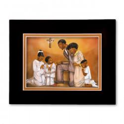 """Evening Prayer"" Matted Print, art by Carlotta Swain-Ward"