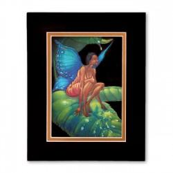 """Honey Dew Drop"" Matted Print, art by Carlos Spivey"