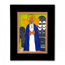 """Guardian Ancestor"" Matted Print, art by Aileen Ishmael"