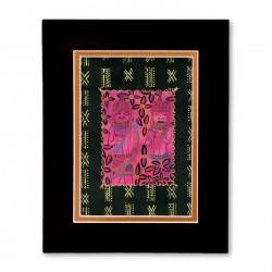 """""""African Eden"""" Matted Print, art by Charles Grant"""
