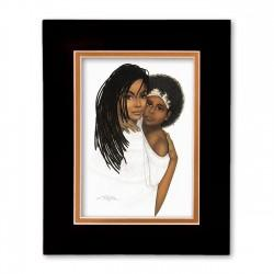 """""""Mother Love"""" Matted Print, art by Dexter Griffin"""