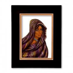 """Peaceful Spirit"" Matted Print, art by Dexter Griffin"