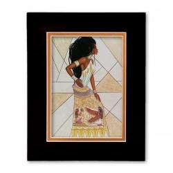 """""""Past Present & Future"""" Matted Print, art by Dexter Griffin"""