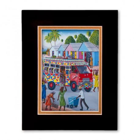 """Tap Tap"" Matted Print, art by Fritz Merise"