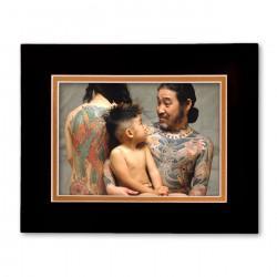 """""""Nakano Family"""" Matted Print"""