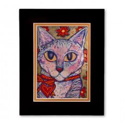 """Matisse"" Matted Print, art by Tony DiAngelis"