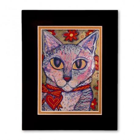 """""""Matisse"""" Matted Print, art by Tony DiAngelis"""