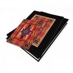 """Nubian Afghan"" Gift Set, artwork by Charles Grant"