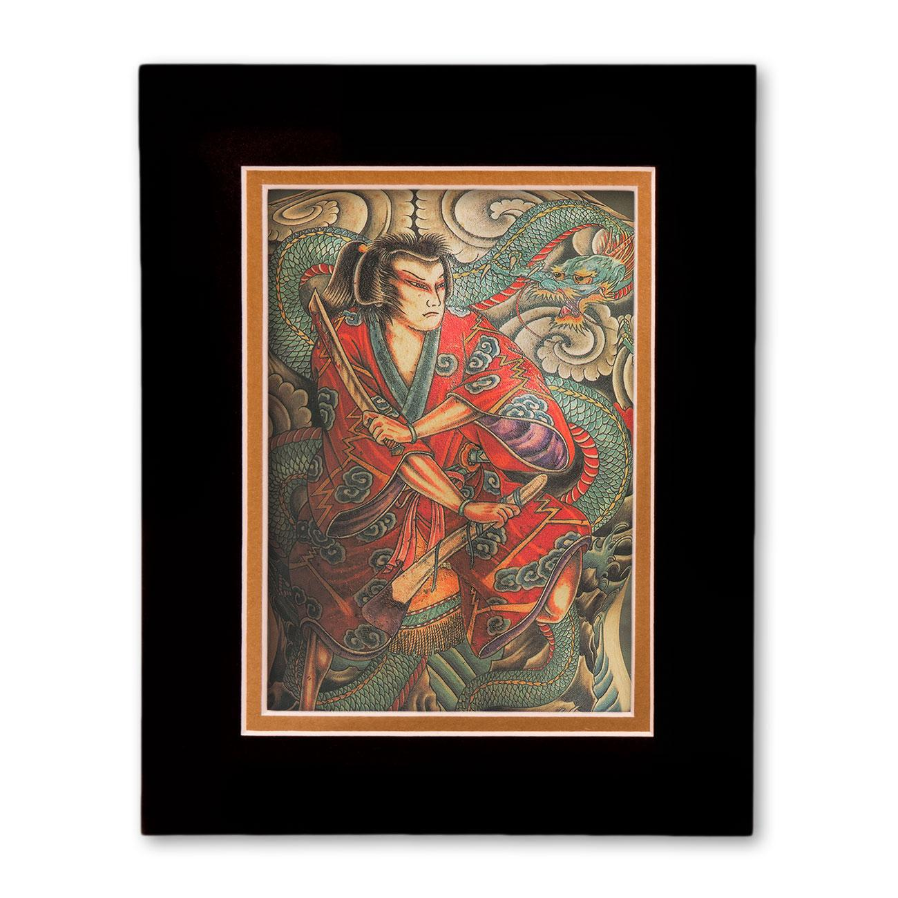 Homage to hori yoshi ii gift set tattoo art by john joyes for Gifts for tattoo artist